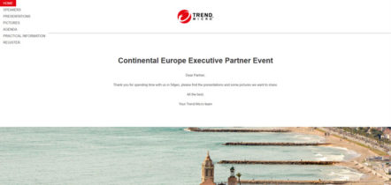 Continental Europe Executive Partner Event